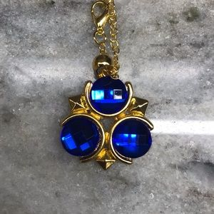 Legend of Zelda Blue Spiritual Stone Necklace
